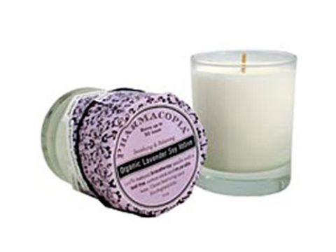 Farmacopia organic soy candles in lavender