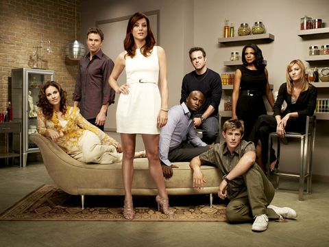 kate walsh and actors from the tv show private practice