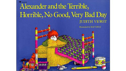 çocuk books, Alexander and the Terrible, Horrible, No Good, Very Bad Day