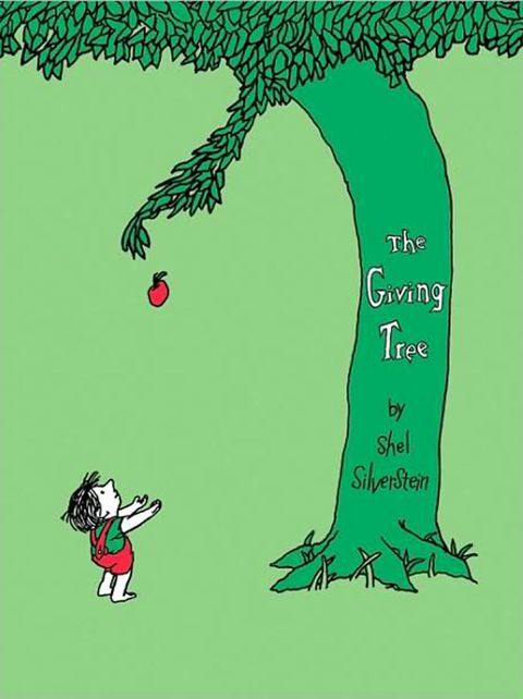 giving tree, shel silverstein, childrens books