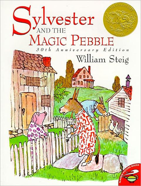 Steig, sylvester and the magic pebble, children's books