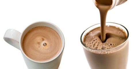 chocolate milk hot chocolate