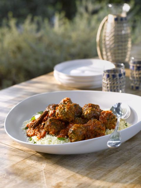 Слатко and Spicy Greek Meatballs recipe
