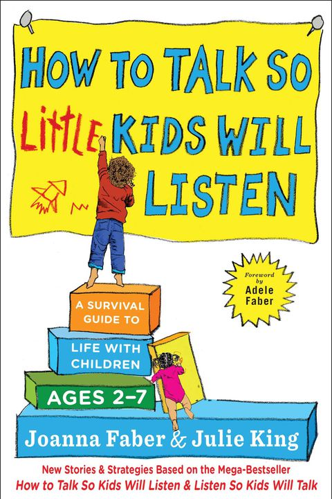 hoe to talk so little kids will listen parenting book
