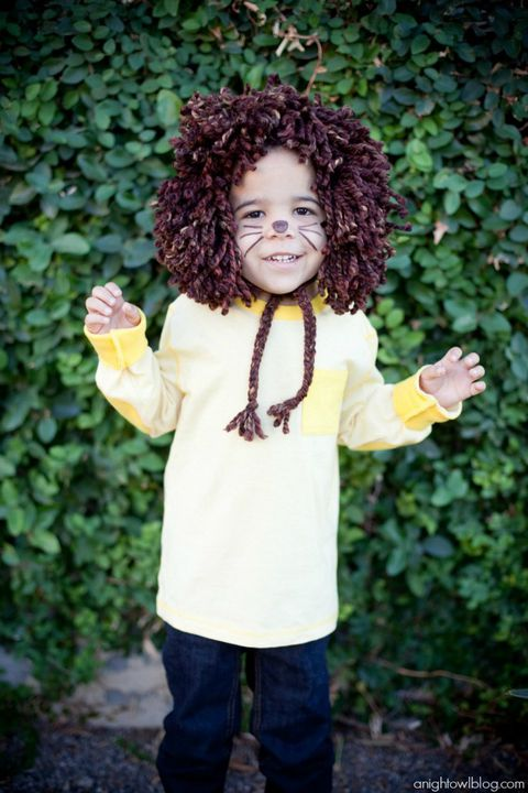liūtas toddler halloween costume