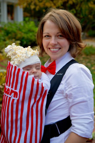 filme theater popcorn newborn halloween costume